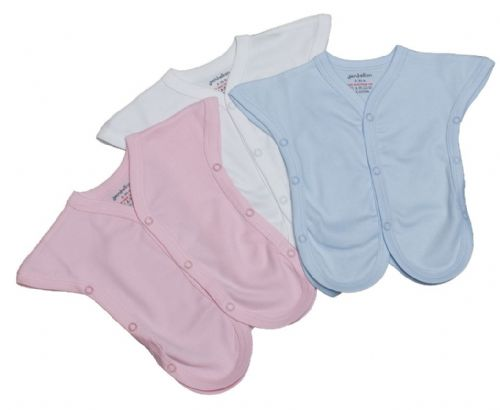 Set of 2 100% Cotton Incubater Vests